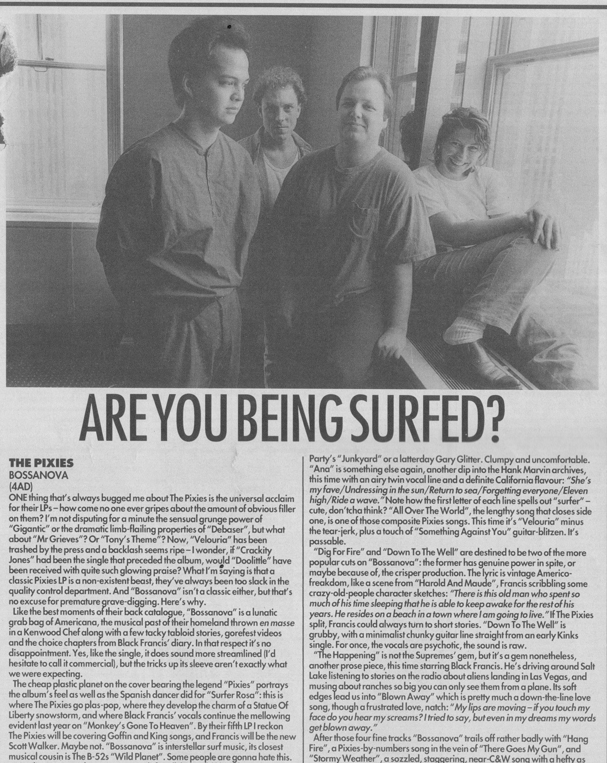 bob-stanley-reviews-the-pixies-bossanova-11th-august-1990