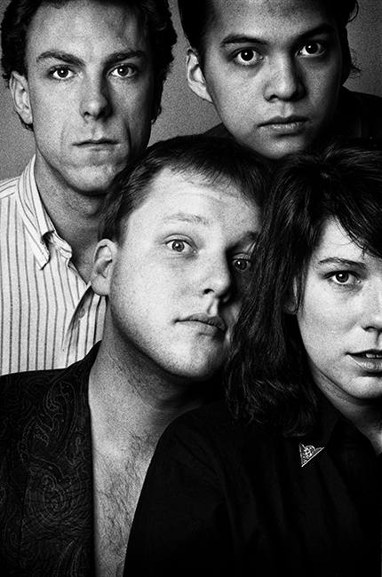 The Pixies   January 1988  Boston  Press Image