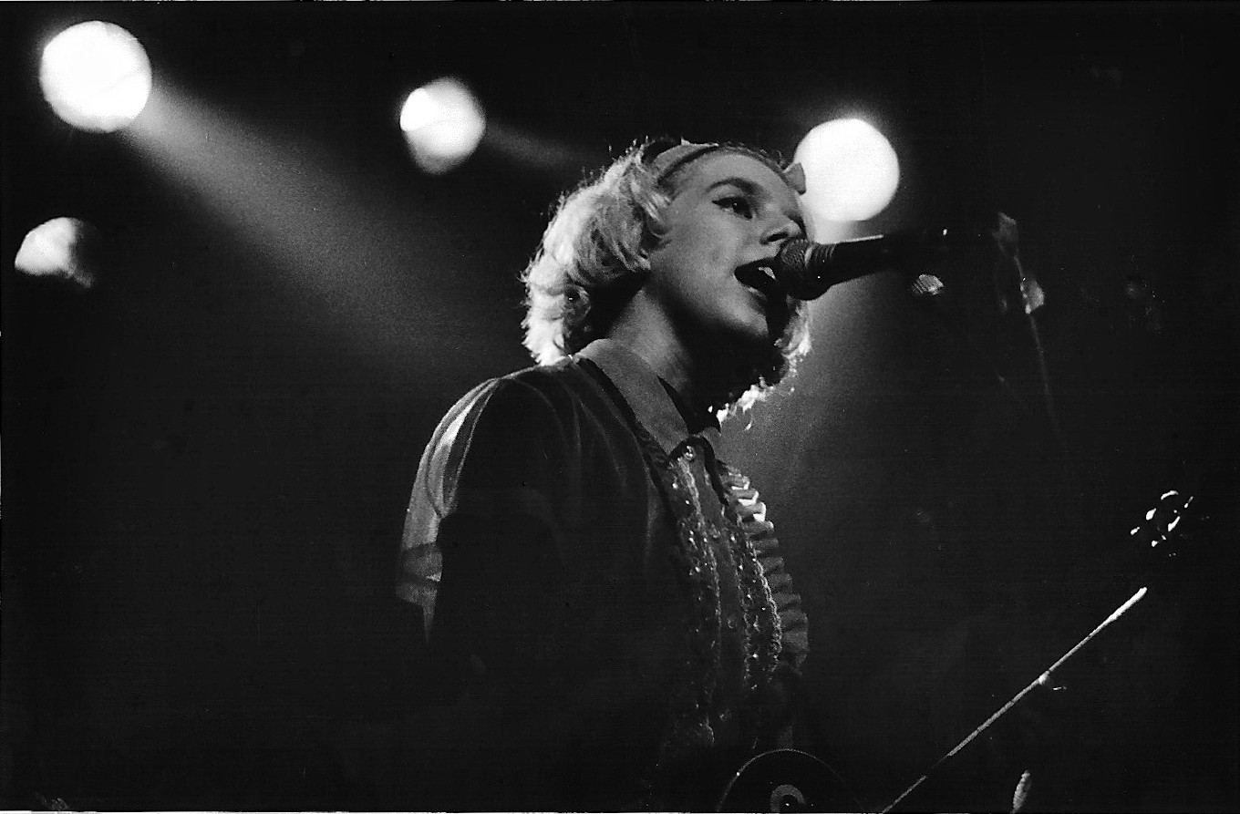 Tanya touring the Real Ramona album The Leadmill, Sheffield March 1991